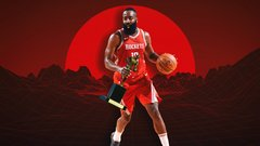 The absurd numbers fueling Harden's MVP run