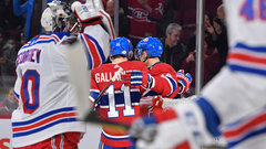 NHL: Rangers 1, Canadiens 3