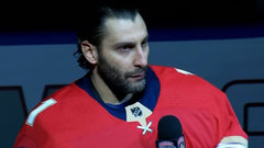 Must See: Luongo makes powerful speech prior to Panthers game