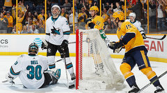 NHL: Sharks 1, Predators 7