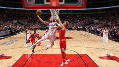 NBA: 76ers 116, Bulls 115