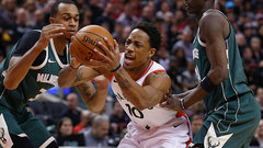 Raptors look to extend winning streak Friday against the Bucks