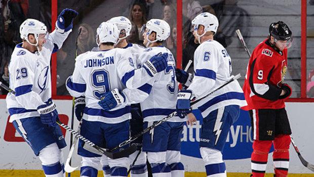 NHL: Lightning 4, Senators 3