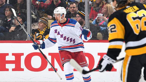 Rangers trade Grabner to Devils for pick, prospect