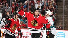 NHL: Sharks 1, Blackhawks 3