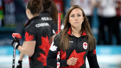 The international field in curling is getting stronger