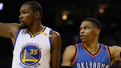 Rivalry renewed as Westbrook's Thunder visit Durant's Warriors on Saturday