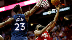 NBA: Timberwolves 102, Rockets 120