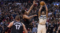 NBA: Bucks 122, Raptors 119 (OT)