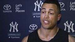 Stanton feels energy from Yankees fans
