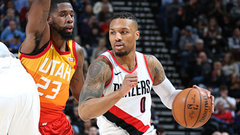 NBA: Trail Blazers 100, Jazz 81