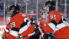 Karlsson in, Oduya out when Senators host Flyers this afternoon