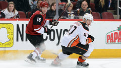 NHL: Ducks 0, Coyotes 2