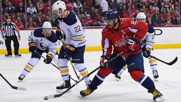NHL: Sabres 1, Capitals 5