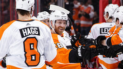NHL: Flyers 5, Senators 3