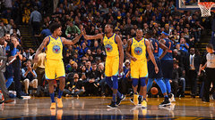 NBA: Thunder 80, Warriors 112