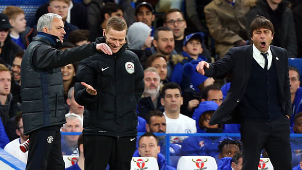 Mourinho and Conte square off in another highly anticipated matchup