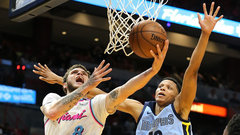 NBA: Grizzlies 89, Heat 115