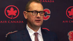 Flames Treliving discusses putting Smith on IR