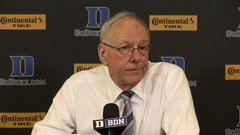 Boeheim: 'When you start listening to players, you're gone'