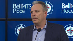 Cheveldayoff believes Stastny will fit perfectly with Jets