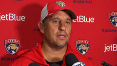 Boughner says Panthers are comfortable with the group they have