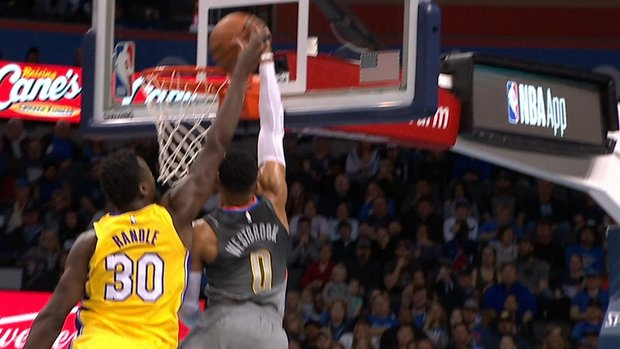 Must See: Westbrook dunks on Randle