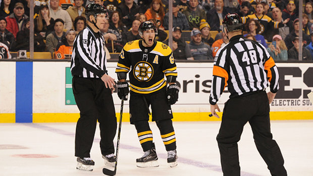Was Marchand's hit on Duclair dirty or an accident?