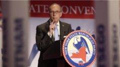 Kudlow seen as a downgrade from Cohn for economic advice: Gordon Johnson
