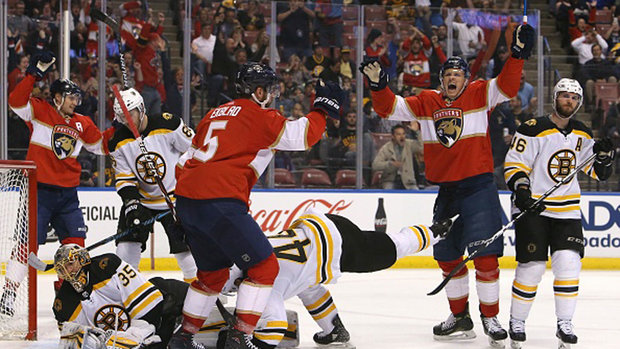 NHL: Bruins 0, Panthers 3