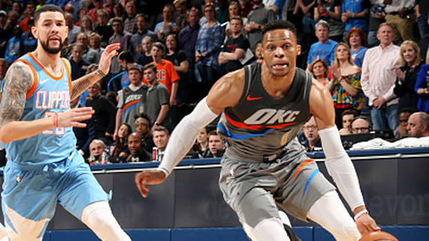 NBA: Clippers 113, Thunder 121