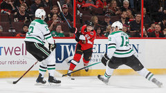 NHL: Stars 2, Senators 3 (OT)