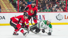Senators spoil another night for the Stars