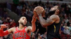NBA: Cavaliers 114, Bulls 109