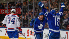 Button: Maple Leafs took the Canadiens to school