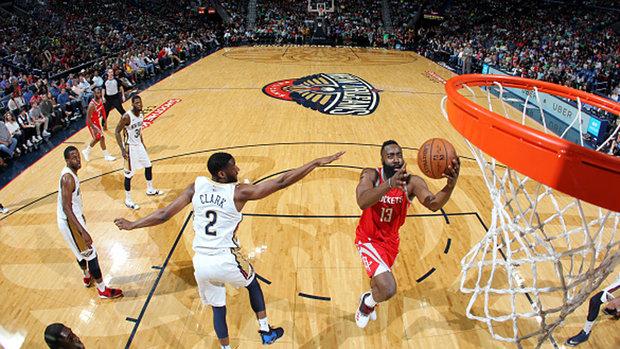 NBA: Rockets 107, Pelicans 101
