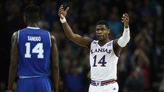NCAA: (8) Seton Hall 79, (1) Kansas 83