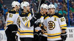 NHL: Bruins 3, Lightning 0