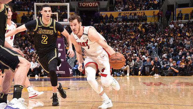 NBA: Heat 92, Lakers 91