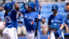 Stroman wants Guerrero Jr., Bichette on Blue Jays now