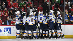NHL: Blues 5, Blackhawks 4 (OT)
