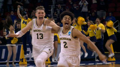 Must See: Poole drops game-winning three at the buzzer for Michigan
