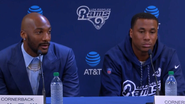 Talib on joining Rams: 'I'm a social butterfly...I'll fit in just fine'