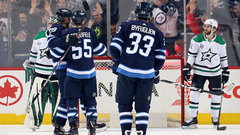 NHL: Stars 2, Jets 4