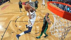 NBA: Celtics 89, Pelicans 108