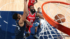 NBA: Rockets 129, Timberwolves 120
