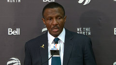 Casey on officiating: 'All we want to ask for is fairness and consistency'