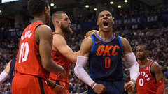 NBA: Thunder 132, Raptors 125