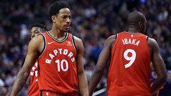 Raptors' emotions erupt amid controversial officiating