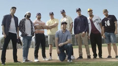 Brewers reenact favourite scene from The Sandlot